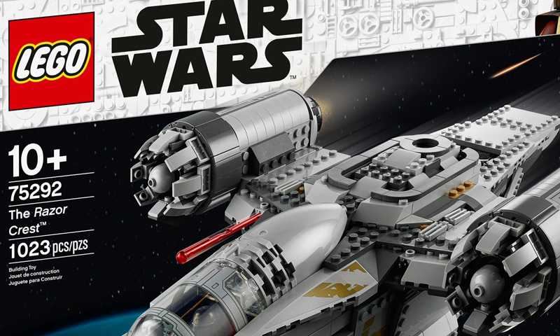 LEGO Star Wars The Razor Crest (75292) Box Art Hints On A Video Game Secret Code
