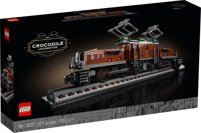 Crocodile Locomotive (10277)
