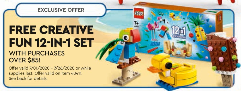 LEGO Store July 2020