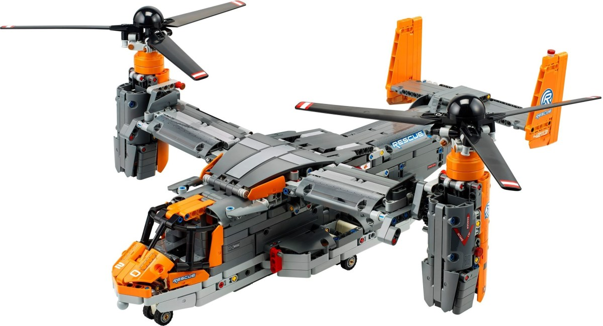 How the LEGO Technic Bell-Boeing V-22 Osprey (42113) May Be Saved