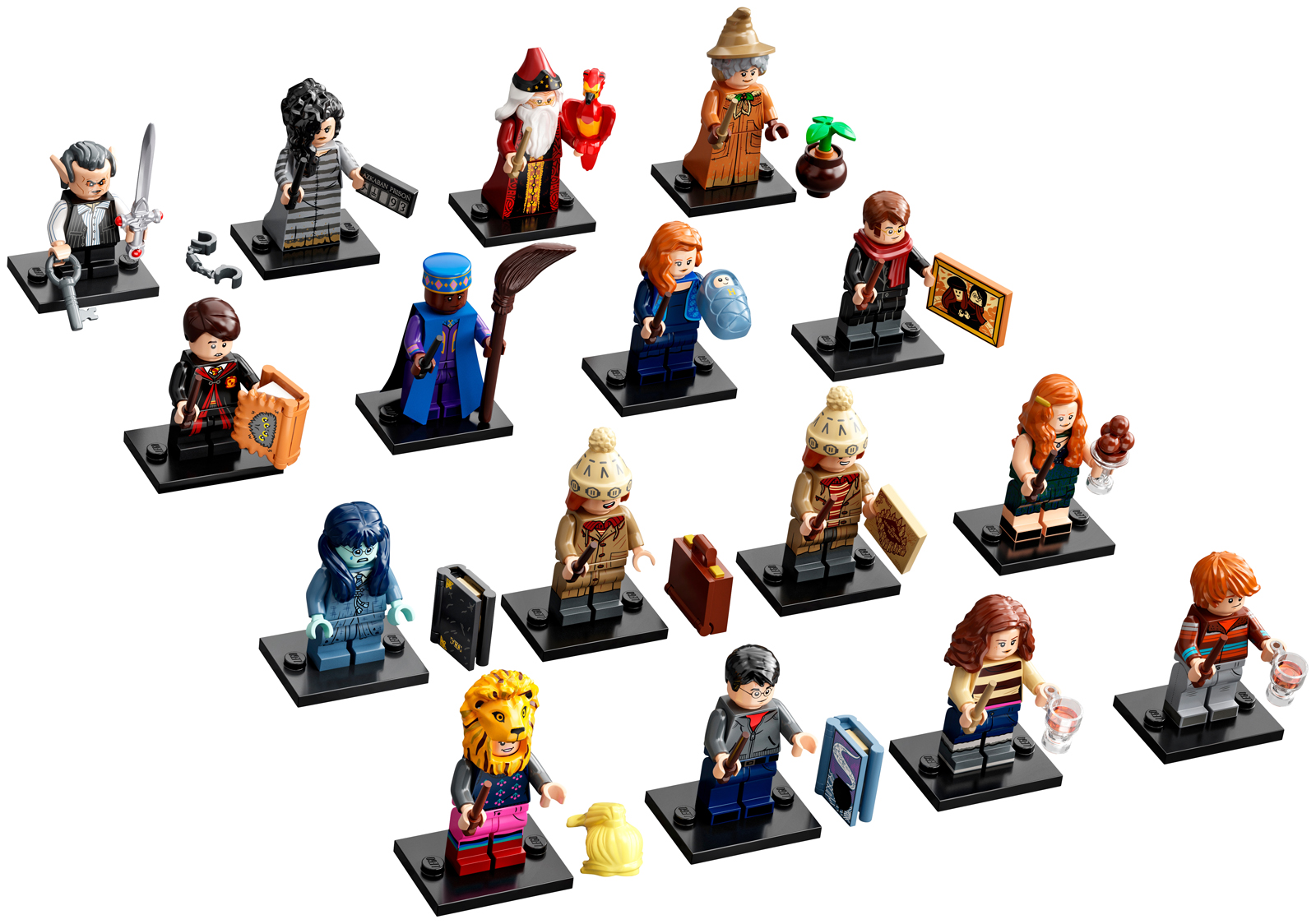 """/""""The Movie/"""" Minifigures Series Poster LEGO Collectible Leaflet Pamphlet"""