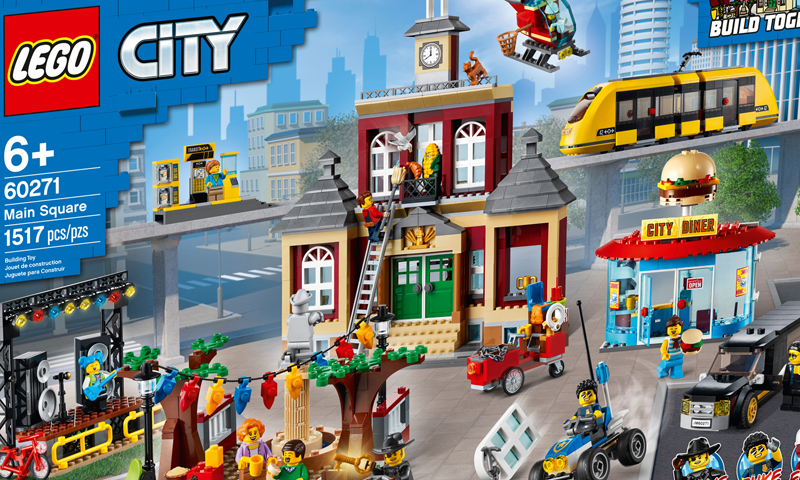 LEGO City Main Square (60271) Now Listed at LEGO Shop@Home