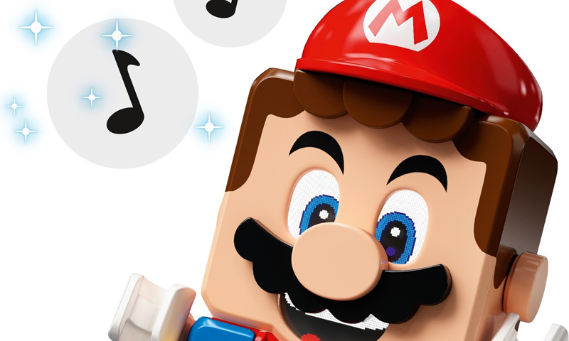 What's Inside: Taking Apart the LEGO Super Mario Figure
