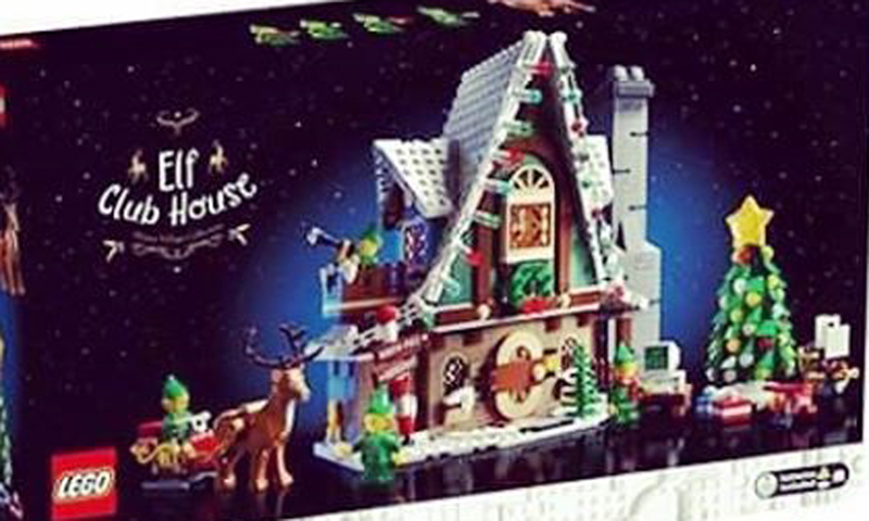 The LEGO Elf Club House (10275) Is This Year's Winter Village Set