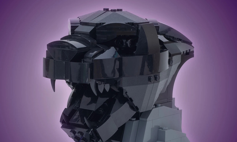 Custom LEGO Black Panther