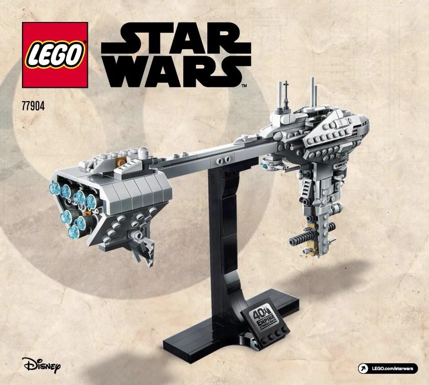 LEGO Star Wars Nebulon-B Frigate