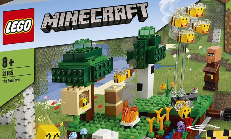 Here's a Look at Some of the First LEGO Minecraft 2021 Sets