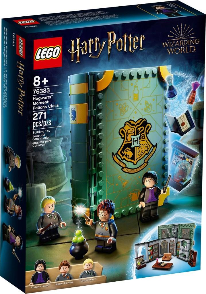 New LEGO Harry Potter Hogwarts Moment Sets Unveiled