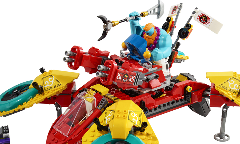 LEGO Monkie Kids' Team Quadcopter