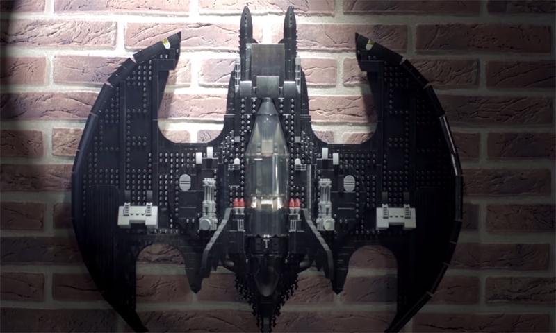 WATCH: LEGO Batman 1989 Batwing (76161) Designer Video