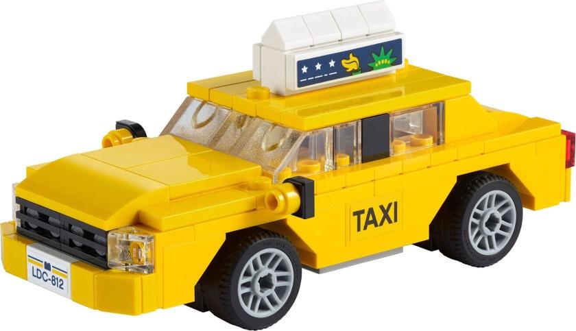 LEGO Creator Yellow Taxi