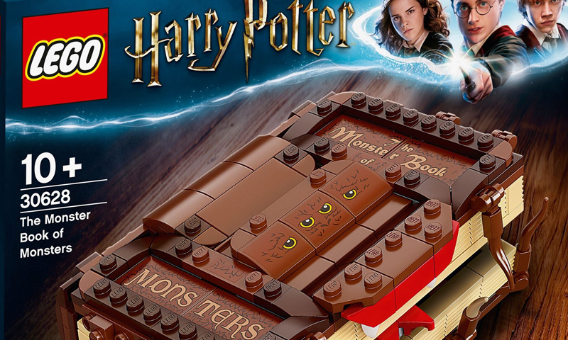 LEGO Harry Potter The Monster Book of Monsters (30628) Confirmed as Next 2021 Promotional Set