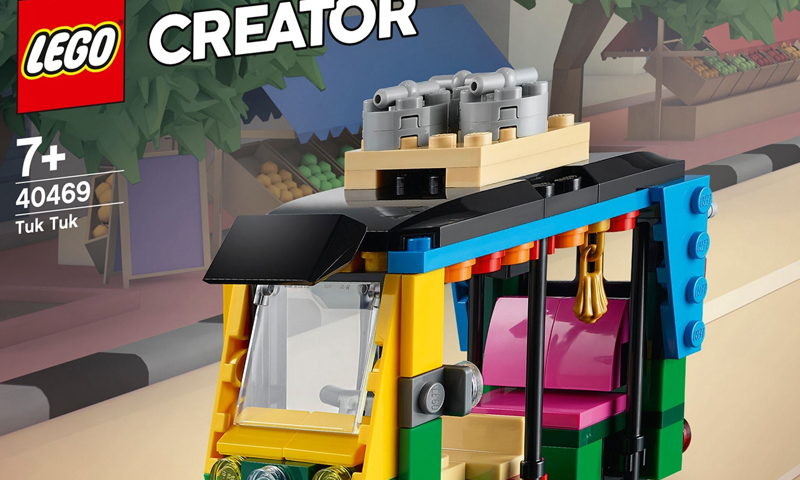 Travel Around Your LEGO Metropolis With These LEGO Creator Yellow Taxi and Tuk Tuk Sets