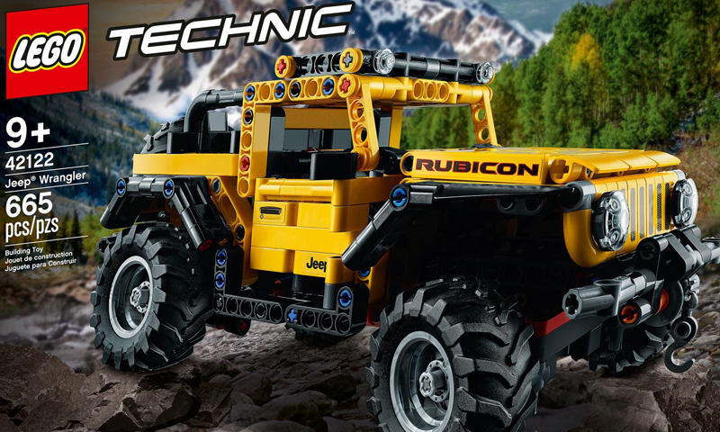 Jump In With the LEGO Technic Jeep Wrangler (42122) Arriving in 2021