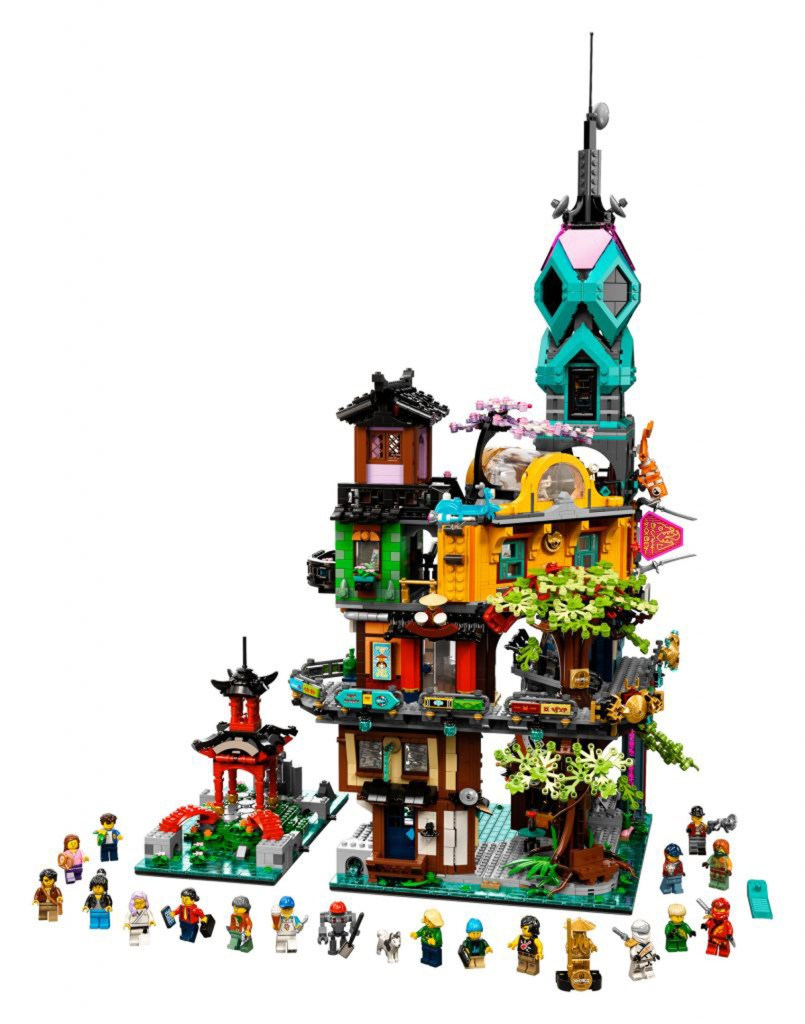 Here's A Better Look at the New LEGO Ninjago City Gardens ...