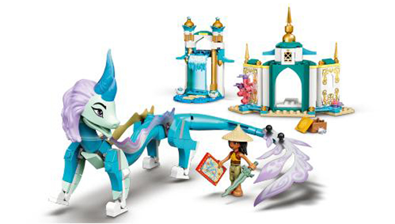 LEGO Disney Raya and the Last Dragon Sets Revealed