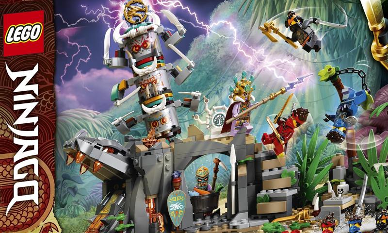 LEGO Ninjago The Island Set Images Revealed