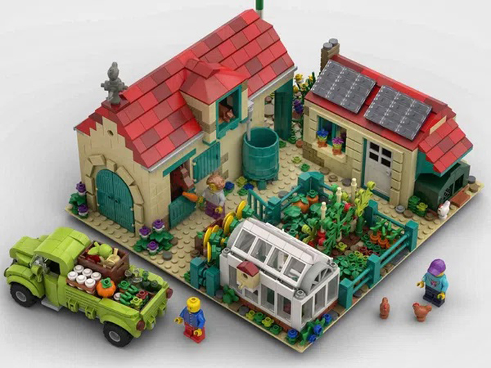 First 2021 LEGO Ideas Review Stage