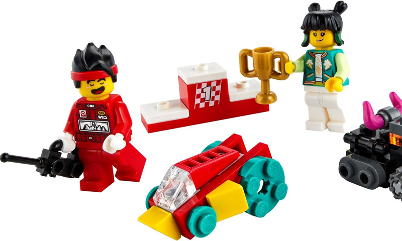 LEGO Monkie Kid's RC Race