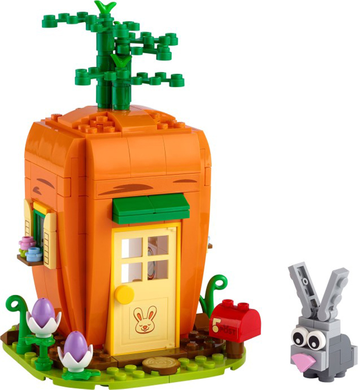 LEGO Easter Bunny's Carrot House