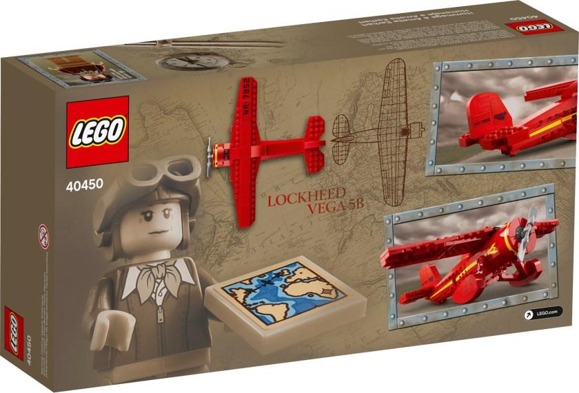 LEGO Amelia Earhart Tribute