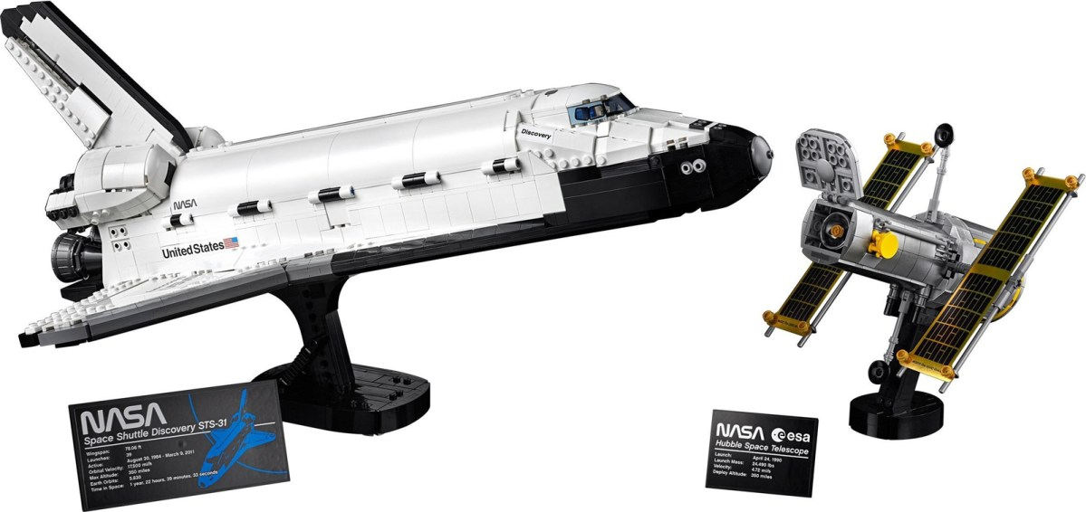 ICYMI: LEGO NASA Space Shuttle Discovery (10283) Landing this April