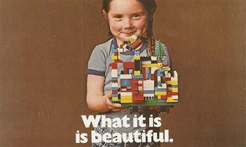 The LEGO Group Recreates Its LEGO 1980s Advert In Support of International Woman's Day