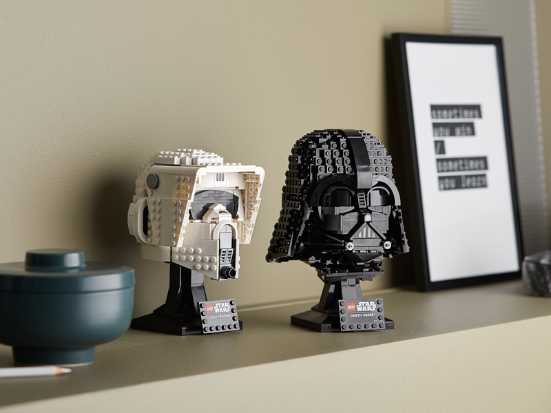 More LEGO Star Wars Helmets Revealed – Now Up at LEGO Shop@Home