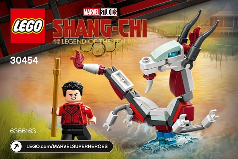 LEGO Marvel Shang-Chi and the Great Protector (30454) Polybag Arriving Soon