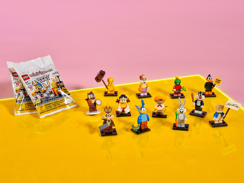 LEGO Looney Tunes Collectible Minifigures (71030) Now Listed at LEGO Shop@Home