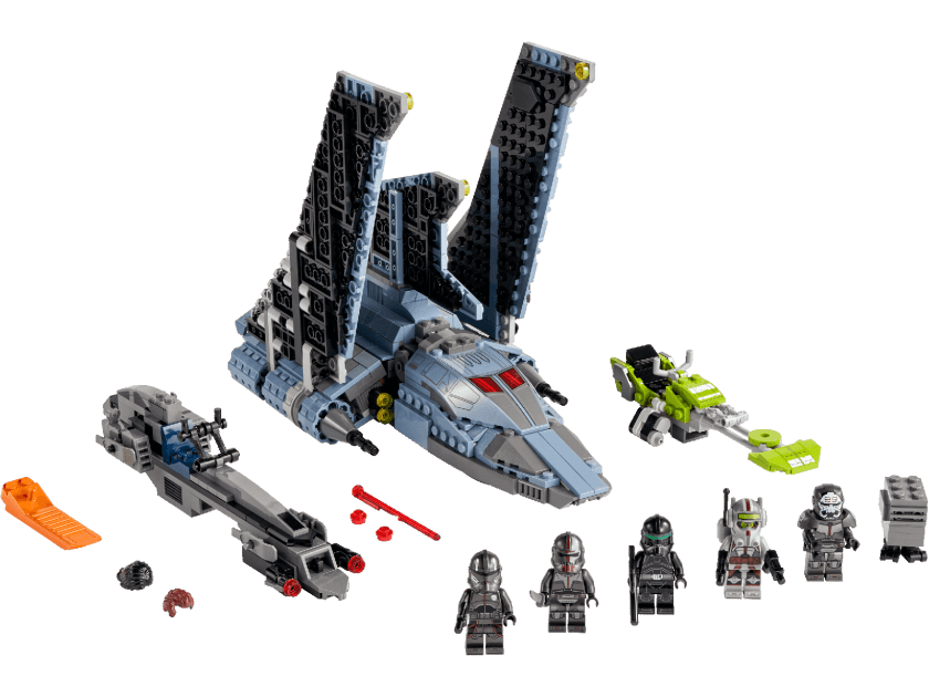 LEGO Star Wars The Bad Batch Attack Shuttle