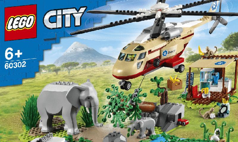 LEGO City Animal Rescue Summer 2021 Sets Revealed