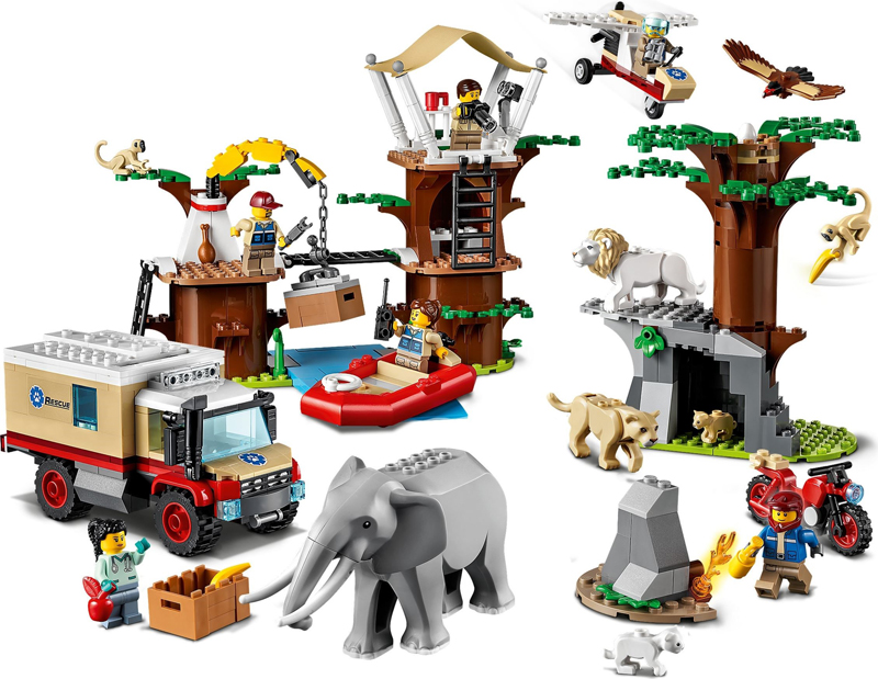 LEGO City Wildlife Rescue Sets Now Listed At LEGO Shop@Home