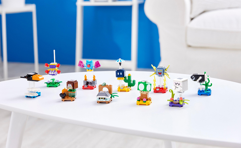 Here's a Sneak Peek at the LEGO Super Mario Character Pack Series 3 (71394)
