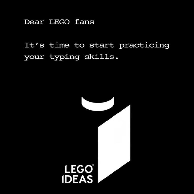WATCH: LEGO Ideas Typewriter (21327) Video Teaser