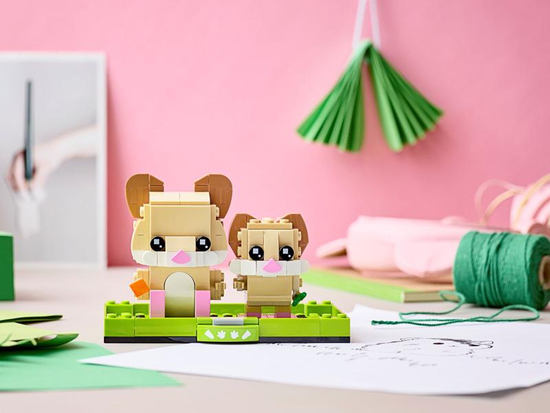 More LEGO BrickHeadz Pets Added to LEGO Shop@Home