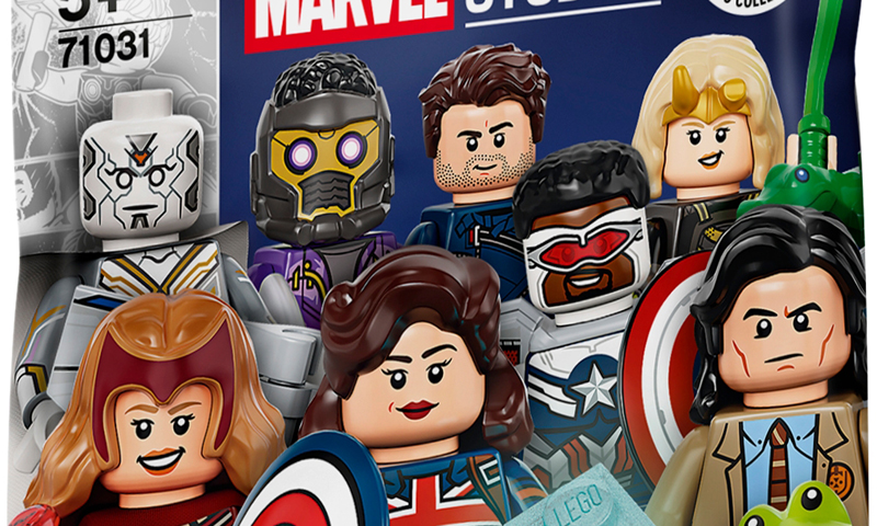 Here's A Closer Look at the LEGO Minifigures Marvel Studios Series (71031)