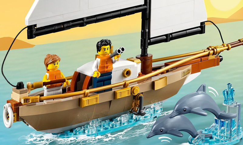 LEGO Ideas Sailboat Adventure (40487) Now Up As A Gift-With-Purchase Set