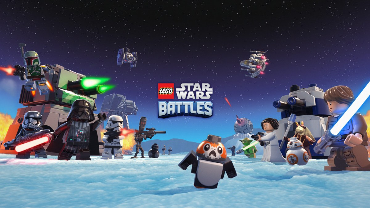 """""""LEGO Star Wars Battles"""" Relaunched on Apple Arcade"""