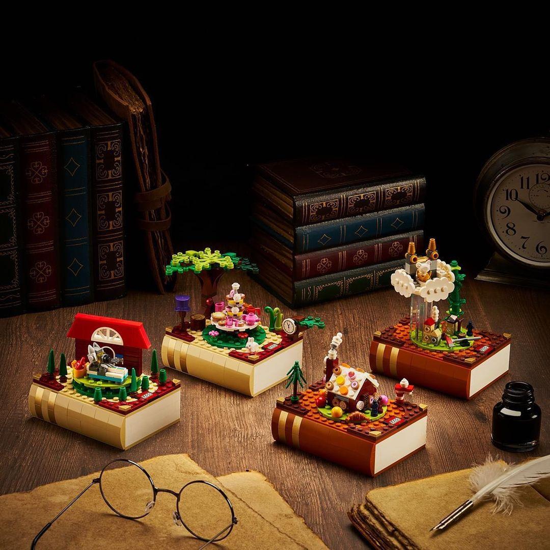 """More Images of LEGO Bricktober 2021 Sets on Asian TRU Stores, Including Number 4: """"Alice in Wonderland"""""""