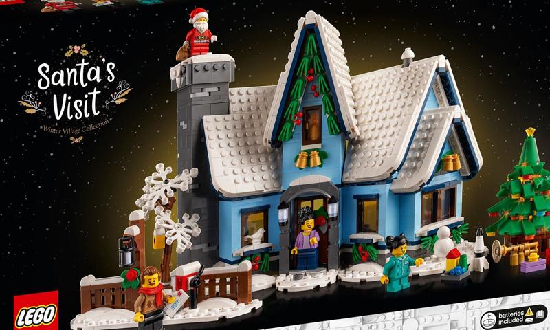 LEGO Creator Expert Santa's Visit (10293) Now Up at US LEGO Shop@Home