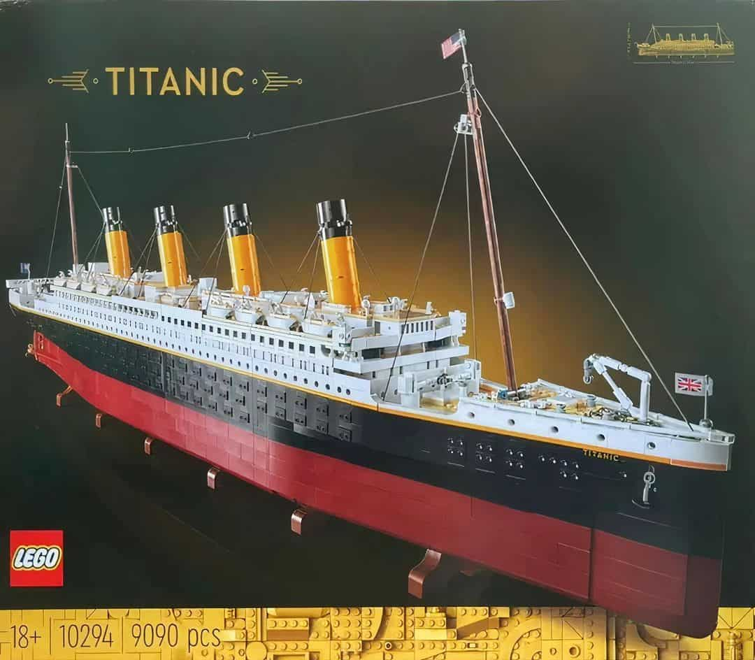 More Rumors About the Still-Unrevealed LEGO Titanic Set (10294)