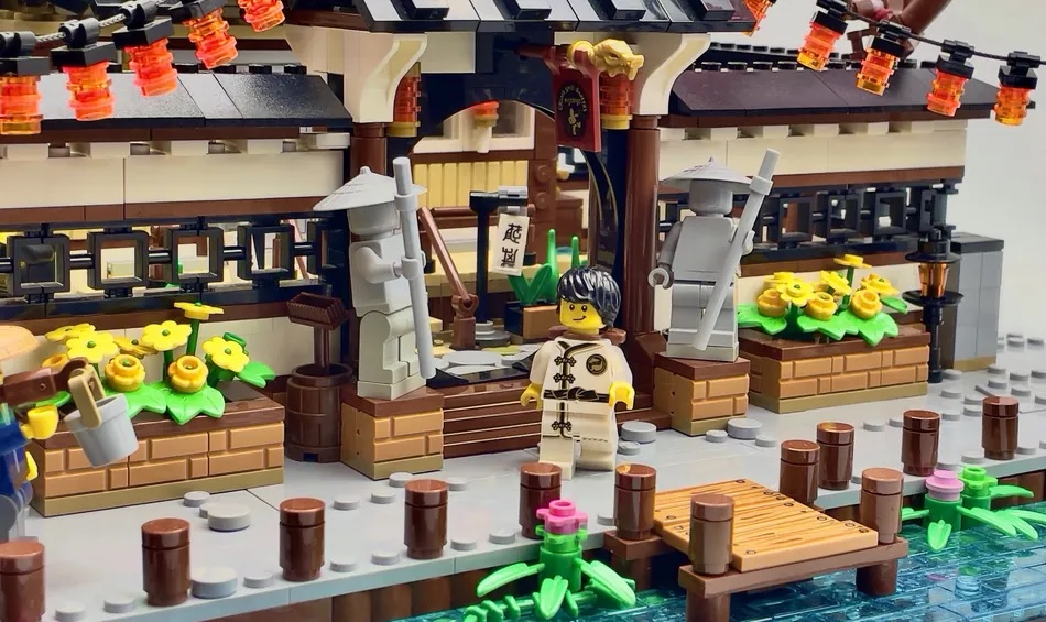 SpaceBrick54's The Dojo Gains 10-K Support on LEGO Ideas