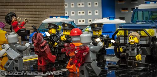 Zombie Creation Retaking LEGO City Bricks Of The Dead