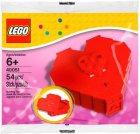 Offizielles LEGO Set 40015 zum Valentinstag 2013 im Polybag.