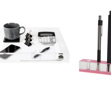 Declutter Your Office With JR William's Design-Forward & 100% Acrylic Organizational Essentials