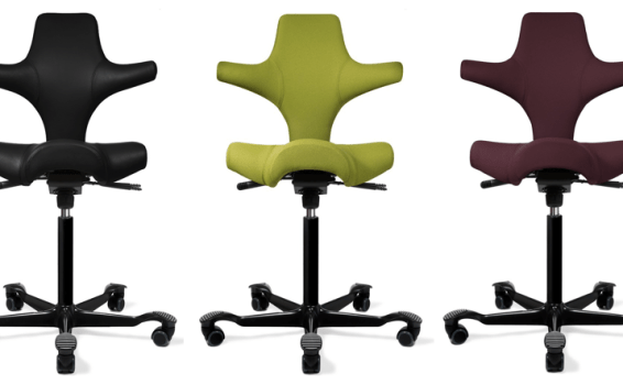 Upgrade Your Home Office & Sit However You Please with Fully's Versatile HAG Capisco Chair