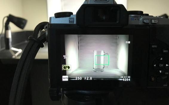 How to use a lightbox + lighting setup