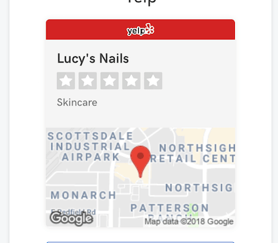 Standout tools: GoCentral Yelp Business Listing feature