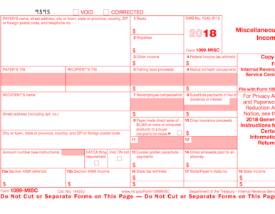 I received a Form 1099-MISC. What should I do?